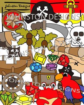 Pirate Theme Clipart