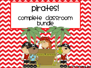 Pirate Theme Complete Classroom Decor Bundle