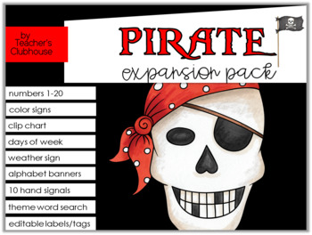 Pirate Theme Decor {Expansion Pack}