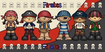 Pirate Theme - Editable Welcome Banner and Wall Strips- Classroom Decor