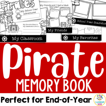Pirate Theme: End-of-Year Memory Book