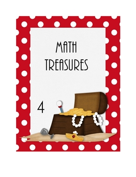 Pirate Theme Math Binder Cover