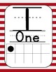 Pirate Theme Math Wall Numbers