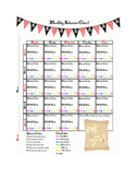 Pirate Theme - Monthly Behavior Chart