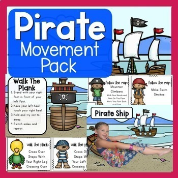 Pirate Theme Movement Pack