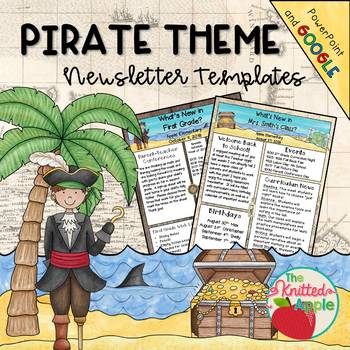 Pirate Theme Newsletter Templates