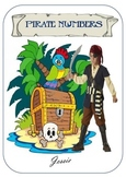 Pirate Theme Number Pack - Bright & Colourful
