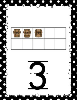 Pirate Theme Numbers 1-20