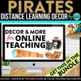 Pirate Theme | Online Teaching Backdrop | Google Classroom