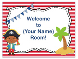 Pirate Theme Open House ~ Back to School ~ PowerPoint Template {Editable Text}
