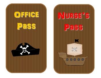 Pirate Theme Passes
