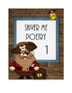 Pirate Theme Poetry folder cover