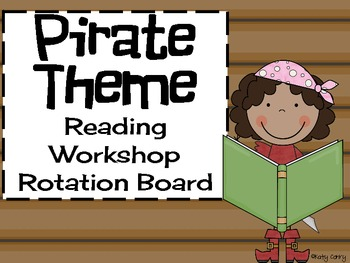 Pirate Theme Reading Workshop Rotation Board
