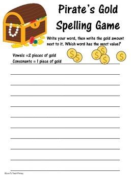 Pirate Spelling