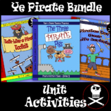 "Reading & Writing Pirate Unit Activities-Perfect ""Talk Like a Pirate Day"" Bundle"