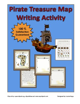 Pirate Theme- Treasure Map -Writing Activity