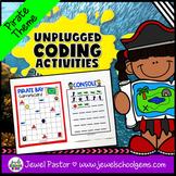 Pirate Theme Unplugged Coding Activities (Talk Like a Pira