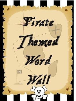 Pirate Theme Word Wall