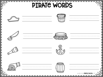 Pirate Theme Word Wall {Dollar Deal}