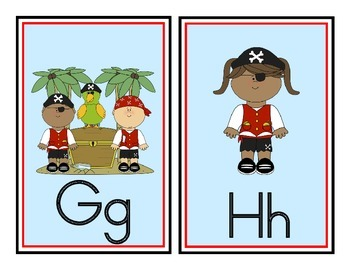 Pirate Theme Word Wall Headers
