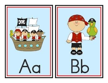 Pirate Theme Word Wall Headers