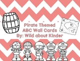 Pirate Themed ABC Wall Cards