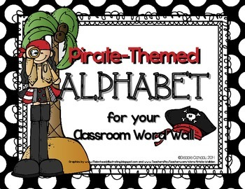 Pirate-Themed Alphabet Headers