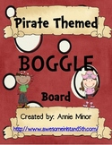 Pirate Themed BOGGLE Board