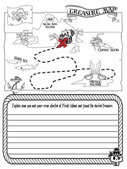 Pirate Themed Back to School Activity Booklet