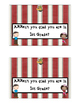Pirate Themed- Back to School Snack Bag Topper