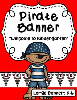 Pirate Themed Banner