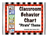 Pirate Themed Behavior Chart
