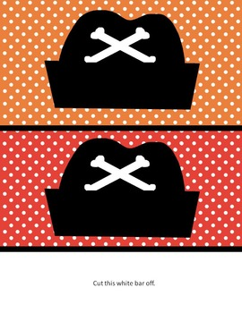 Pirate Themed Behavior Charts - Two to choose from