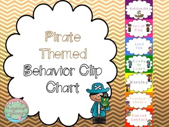 Pirate Themed Behavior Clip Chart