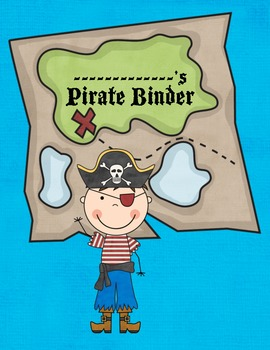 Pirate Themed Binder Pages