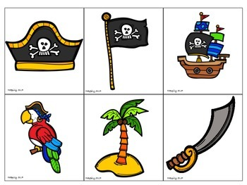 Pirate Themed Bingo
