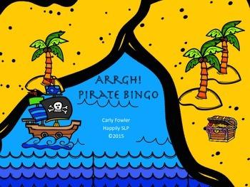 Pirate Themed Bingo