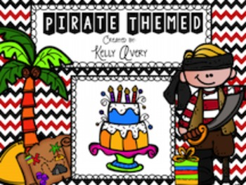 Pirate Themed Birthday Bundle