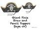 Pirate Themed Class Birthdays