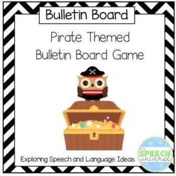 Pirate Themed Bulletin Board Game