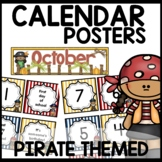 Pirate Themed Calendar