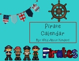 Pirate Themed Calendar Set