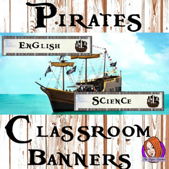 Pirate Themed Classroom Banners