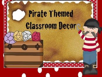 Pirate Themed Classroom Decor
