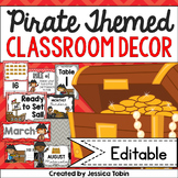 Pirate Classroom Theme Decor, Pirate Theme