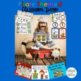 Classroom Decor : Pirate Theme Bundle Back to School