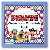Pirate Themed Classroom Decor Bundle