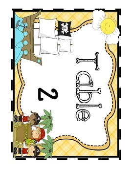 Pirate Themed Classroom Pack