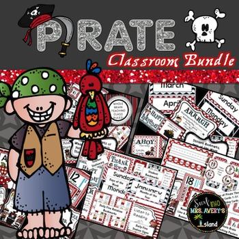 Pirate Themed Classroom Bundle