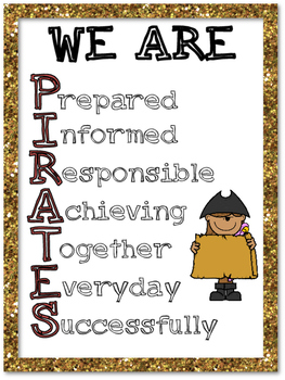Pirate Themed Classroom Sign